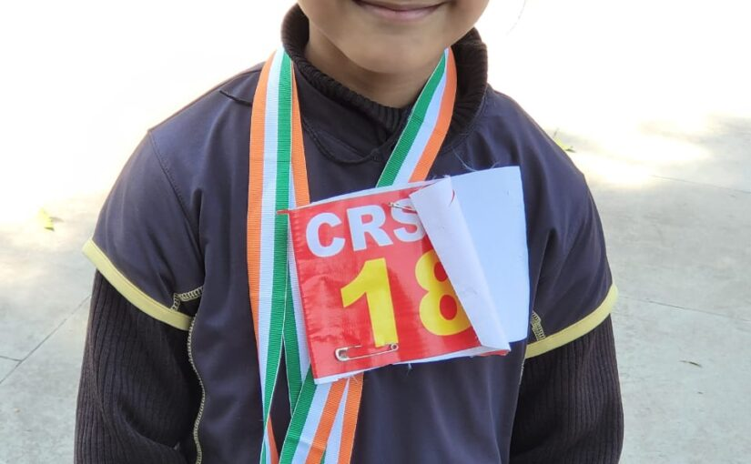Duaa Singh wins medals in State Roller Skating Championship