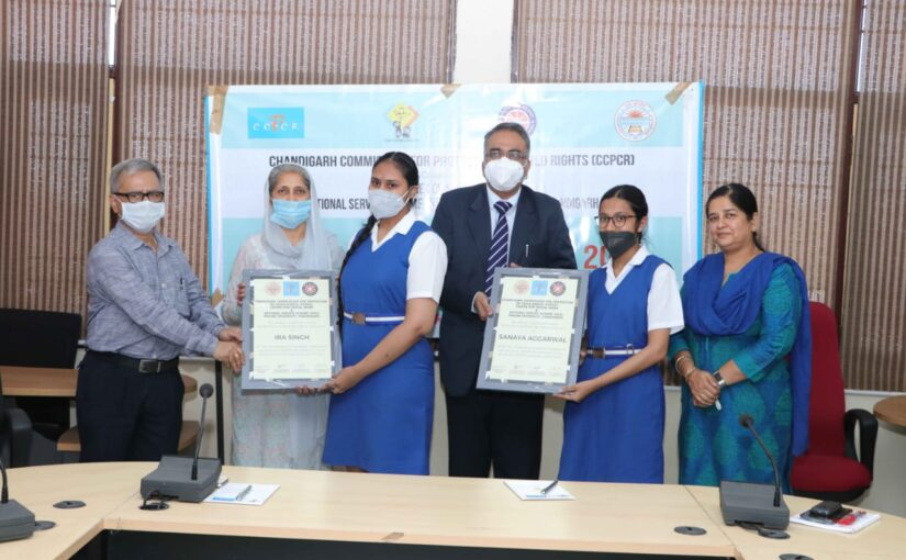 Ira Singh and Sanaya Aggarwal honoured at the World Social Work Day