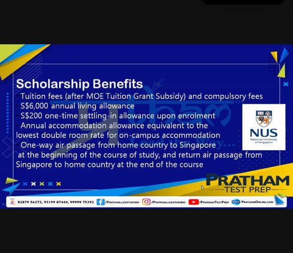 Webinar on Scholarships for Class XI and XII Students